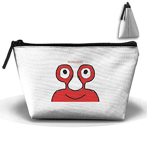 Trapezoid Portable Travel Toiletry Pouch Slogoman Cosmetic Bags Multifunction Clutch Bag