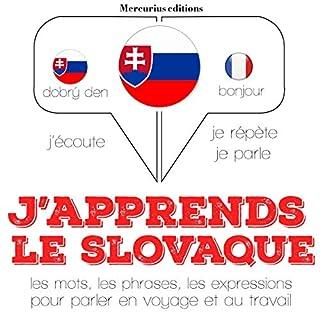 Couverture de J'apprends le slovaque