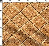 Kekse, Backwaren, Essen Stoffe - Individuell Bedruckt von