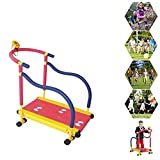 Portable Manual Treadmill for Children - Non Motorized Walking Machine for 3~8 Years