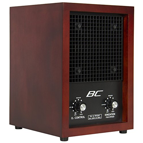 Best Choice Products Living Home Office Ionic Air Purifier Ozone Ionizer, Brown