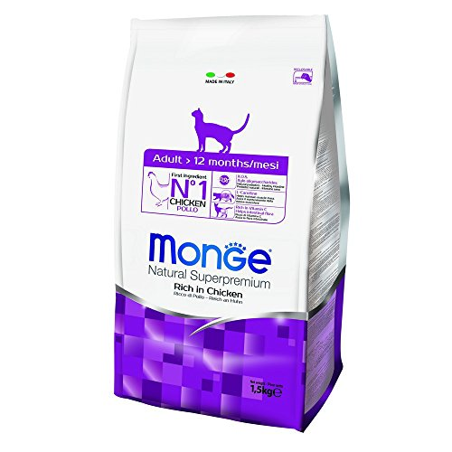Monge Natural SUPERPREMIUM Cat Adult Pollo Alimenti Gatto Secco