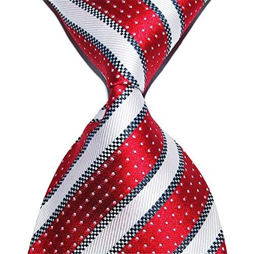 Zjuki Krawatte gestreifte Krawatte 10 cm breite Geschenke modische seidenjacquard-Stoffe passen zum binden von herrenkrawatten zu Einer formellen Heirat B