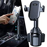 Cup Phone Holder for Car, [No Shaking & No Falling ] LISEN Cup Holder Phone Mount, Cell Phone Holder for Car Compatible with iPhone 12 Pro Max/11 Pro/11/XS and More