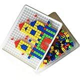 Itian 420 pieza del Rompecabezas de Construcción del Juguete Toy Box con Ladrillos de Plástico Juguetes Educativos para Niños