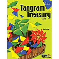 ETA hand2mind Tangram Treasury Book, Grades 5–9