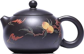 JIAZHOUMA Czarny Zhu Black King Kong brzoskwinia Xishi dzbanek do herbaty Yixing Purply Clay Czajniczek Chiński Kongfu dzb...