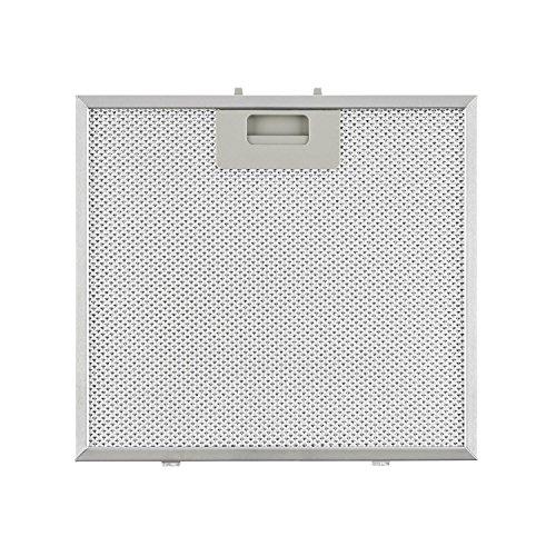Klarstein Aluminium-Fettfilter 27,5x25 cm Austauschfilter Ersatzfilter