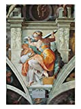 ART ALPHA - Kunstdruck - Michelangelo Buonarroti - Libysche