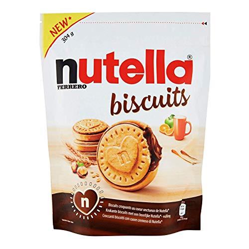 Die Mega Kiste Ferrero Nutella Biscuits mit 10 Tüten a 304g und kleiner Überraschung von Sweetsqueen