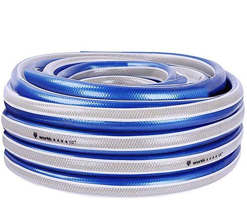 Tuin 3/4 Ihch & 1/2 inch Tuinslang Waterslang Buis Blauw 20/30/50m 3/4