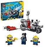 LEGO75549MinionsPersecuciónenlaMotoImparable,JuguetedeConstrucciónconFiguritasdeGRU,StuartyBob