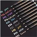 10-Set Dyvicl Metallic Brush Marker Pens