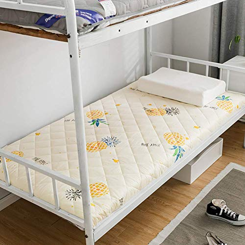 GLF Tatami Mat for Sleeping, Japanese Futon Mattress Thickened Soft Single Double Quilted Folding Tatami Mattress For Student Dormitory B Mattress 90x200cm (35x79inch)