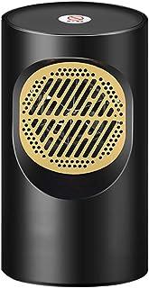 Calefactor Ceramico Bajo Consumo,Calefactor CeráMico BañO,Calentador de Ventilador Ptc de 1 Modos Con ProteccióN Contra Sobrecalentamiento y Volcado Para el Hogar y la Oficina (400 W),Black-A