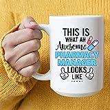 N\A Regalos increíbles de la Taza de café del Gerente de Farmacia