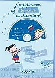 Album Russe en chantant (Livre + CD Audio)