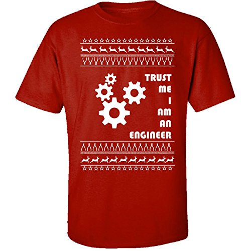 Ugly Christmas Sweater ingeniero ingeniería Ventilador Regalo – Adulto camiseta