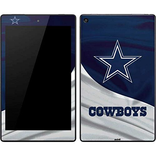 Skinit Decal Tablet Skin Compatible with Kindle Fire HD 8 - Officially Licensed NFL Dallas Cowboys Design