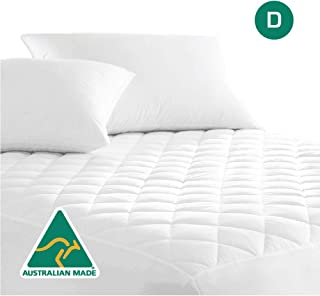 Luxor Linen Australian Made Cotton Quilted Mattress Protector (Quilted-MP-D)