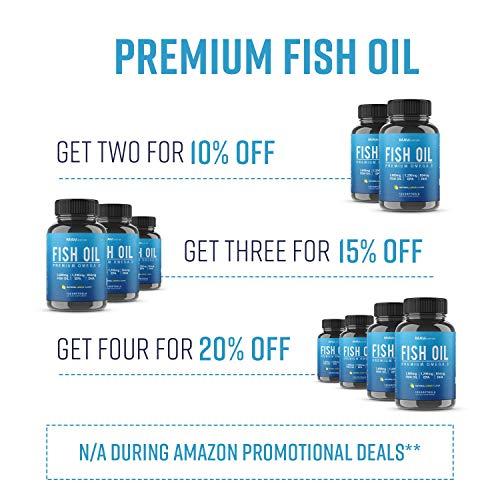 MAV NUTRITION Premium Omega-3 Fish Oil (120 Soft Gels)