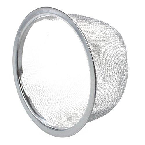 SODIAL (R) Teekanne 80 mm Durchmesser Metall Mesh Teeblaetter Spice Siebkorb