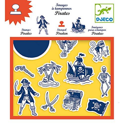 Djeco Kreativkasten Stempel Piraten ab 4 Jahre