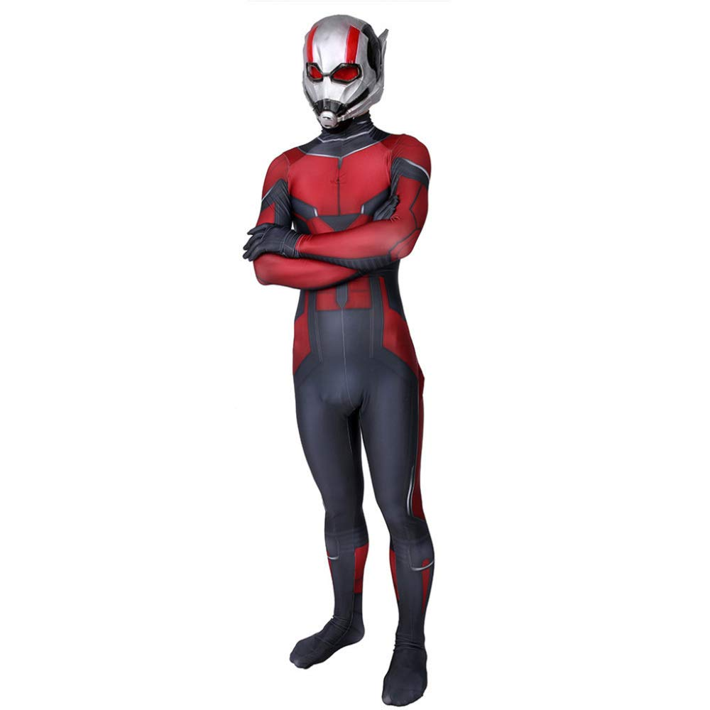 M&Ms mm Ant Man Disfraz Adulto niño Disfraz Hombre Disfraz de ...