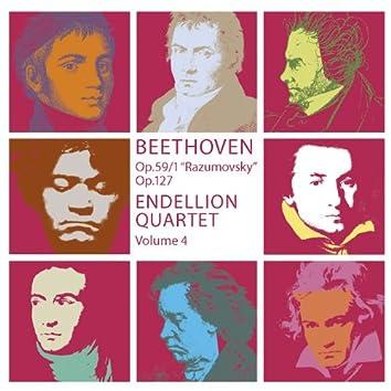 Beethoven : String Quartets Vol.4