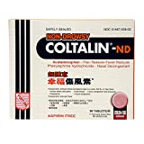 Coltalin-ND (Non-Drowsy) (Cold Relief) (36 Tablets) (1 Box)