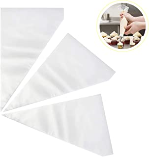300 Pcs Cake Disposable Icing Bags,Disposable Piping Pastry Frosting Decorating Bags for Cake Cupcake Cookie Decoratin-100...