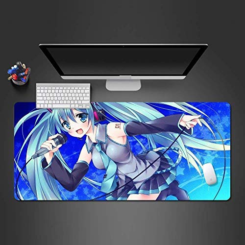 Mouse pad Anime Mouse Pad Mouse Mat Game Player Computer Gorgeous Large Desk Mat to Gamer Mause Pad to Gamer Computer mat