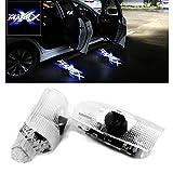 Ltsplay カーテシライト ドアウェルカムライト カーテシランプ レーザーロゴライト LEDロゴ投影ゴーストシャドウ 30系トヨタ マークX 50系車用ドアランプ カーテシ 2個セット for Mark X Blue