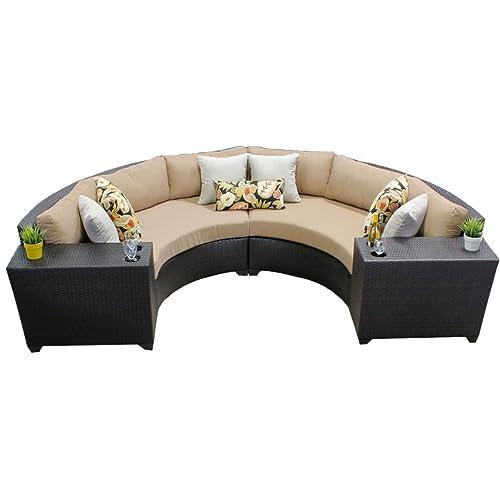 Curved Outdoor Sofa: Amazon.com