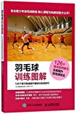 Illustrations of Badminton Training (Improve Your Basics and Practice through 126 Exercises) (Chinese Edition) - Takao Hideo