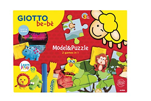 Giotto be-bè- Model & Puzzle Set Creativo, Multicolor (F479800)