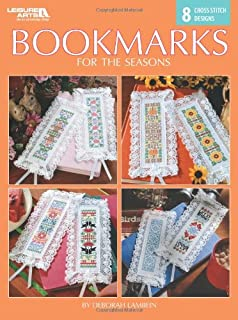 Bookmarks for the Seasons-8 Cross Stitch Designs Featuring Favorite Symbols of the Seasons