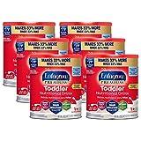 Enfagrow PREMIUM Toddler Nutritional Drink, Omega-3 DHA for Brain Support, Prebiotics & Vitamins for Immune Health, Non-GMO, Powder Can, 32 Oz Powder Can (Pack of 6)