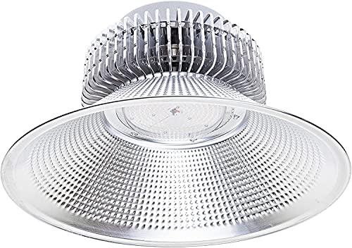 Jandei - Campana LED suspendida luz blanca 6000K 100W/150W/200W Interior IP20 para taller, almacén... (200W, 1 UNIDAD)