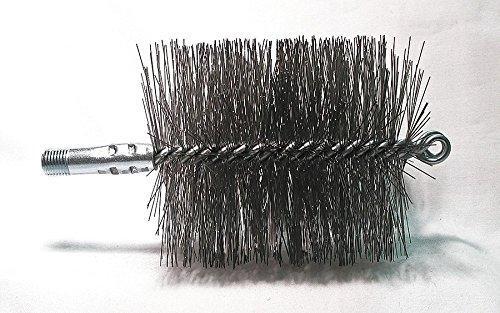 Fantastic Deal! Flue Brush, Dia 4, 1/4 MNPT, Length 8