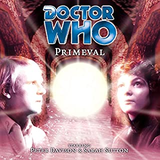 Doctor Who - Primeval cover art