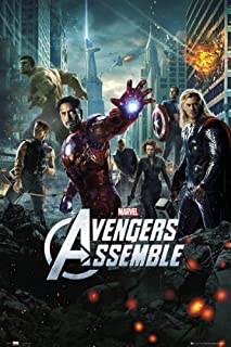 The Avengers - Movie Poster/Print (Regular Style) (Size: 24 inches x 36 inches)