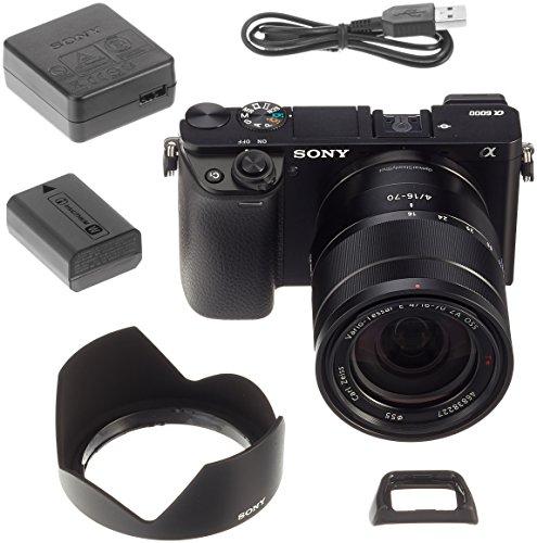 Sony Alpha 6000Z Fotocamera Digitale Compatta
