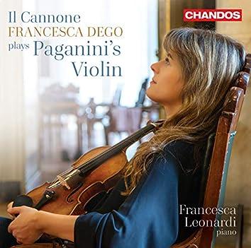 Il Cannone: Francesca Dego Plays Paganini's Violin