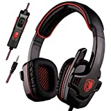 SADES SA708GT PS4 Gaming Headset Stereo Sound Headphone with Volume Control Mic