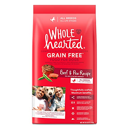 Petco Brand - WholeHearted Grain Free All Life Stages Beef & Pea...
