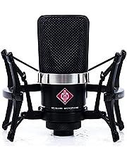 Neumann TLM 102 Black Cardioid Condenser Microphone Studio Set w/ Shock Mount MT