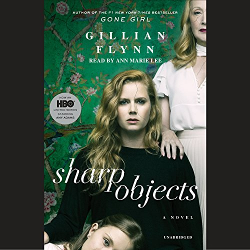 Sharp Objects audiobook cover art