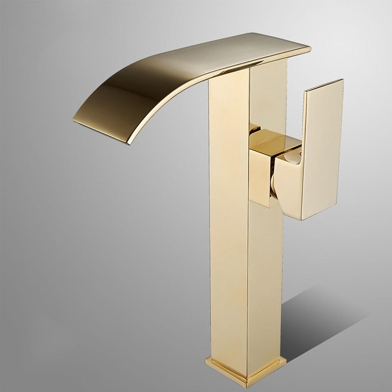 Wasserhahn CHENGYI Moderne Mode High-End-Waschtischmischer Kreative Badezimmer Küche Heier und kalter (Größe   B)