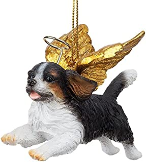 Christmas Tree Ornaments - Honor The Pooch King Charles Cavaliers Holiday Angel Dog Ornaments